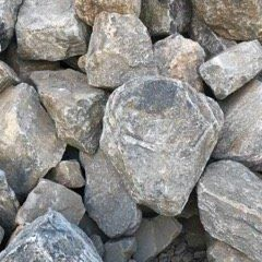 Brown Granite Boulders