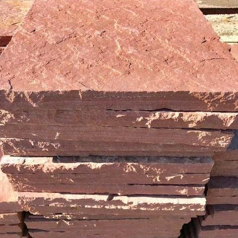 Colorado red flagstone Dimensional cut